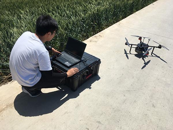 四旋翼无人机测量